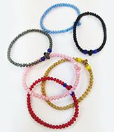 Четки-браслеты плетеные