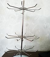 Стойка для четок и браслетов (металл)