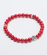 Четки-браслет из Агата красного 30 бусин